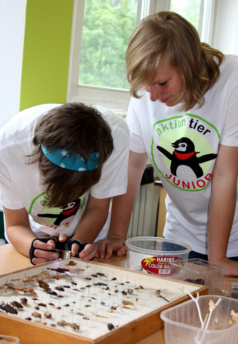 In der Hagenbeck-Schule in Berlin-Weißensee freuten sich die Schüler über spannendes Lernmaterial.