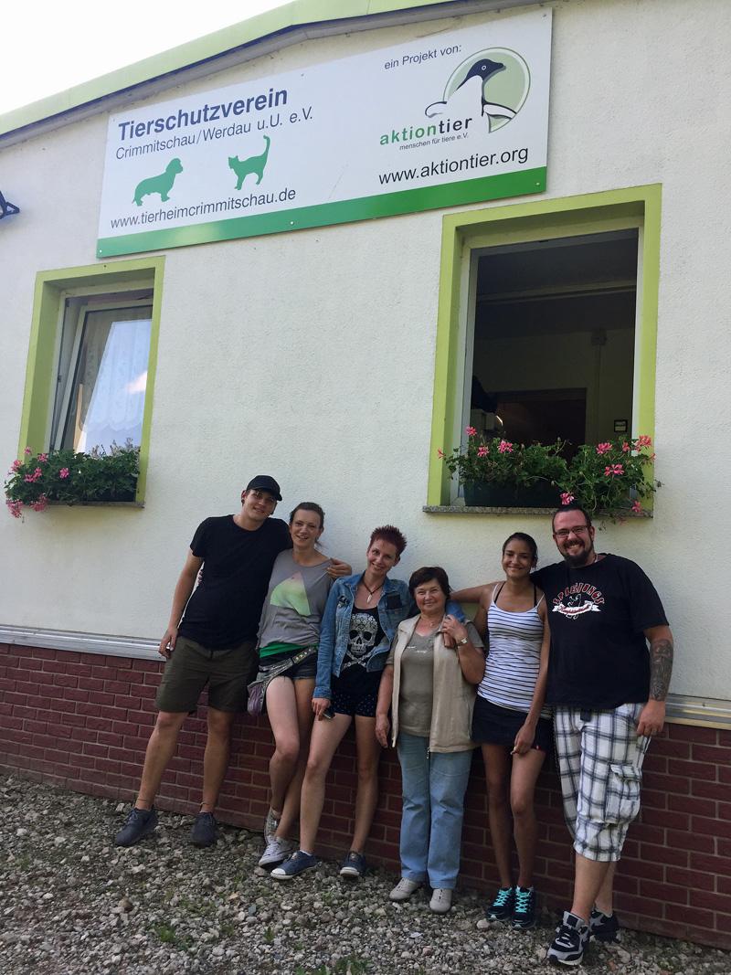 Tierheimbesuch in Crimmitschau