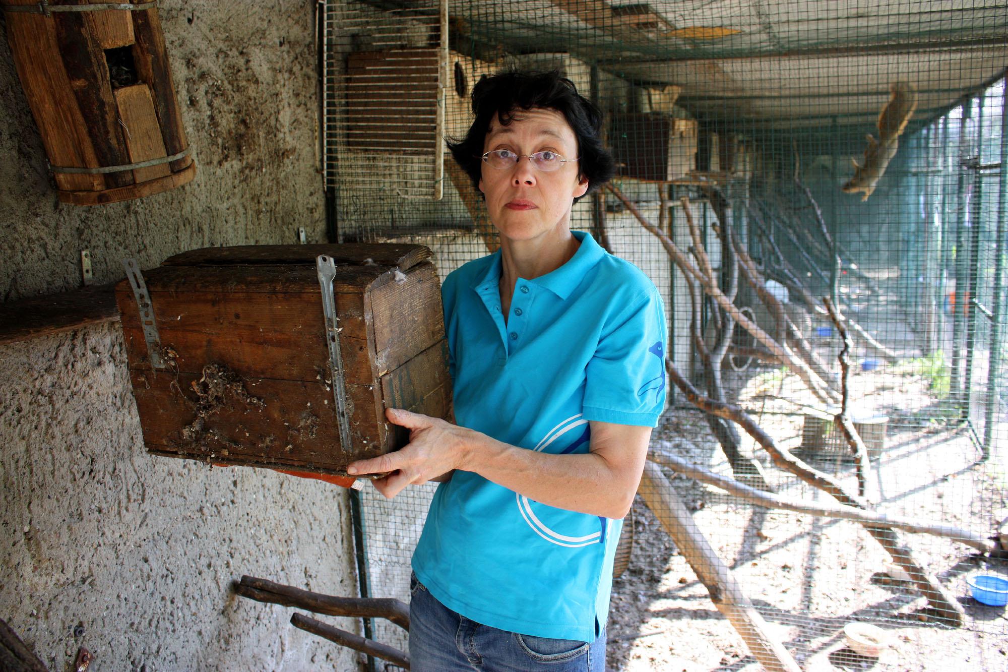 Tanya Lenn ist schockiert über die schlechte Eichhörnchenhaltung