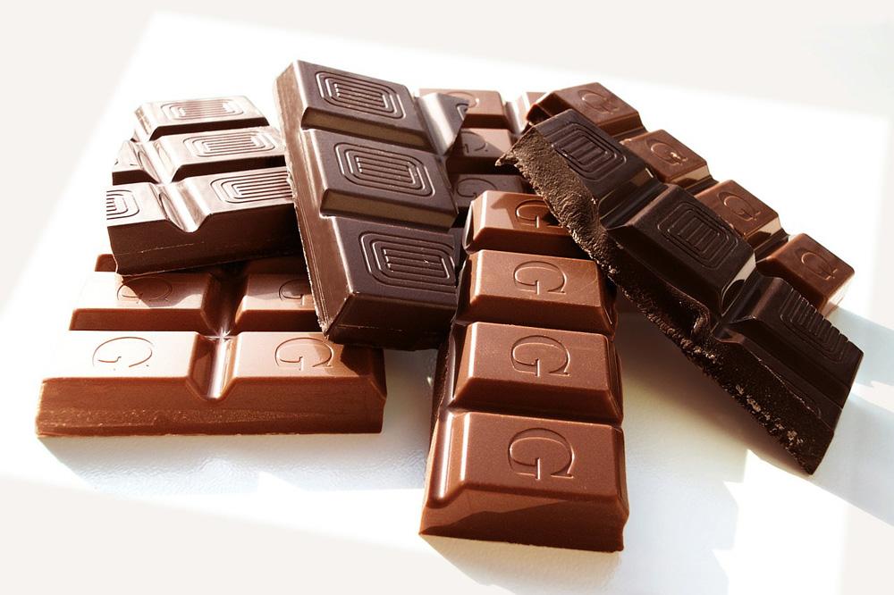 Schokolade ist für Hunde giftig